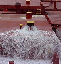 Flow through exchange (T. Mullady, Marine Invasions Research Lab, SERC)